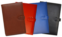 Reporters Leather Bound Journals